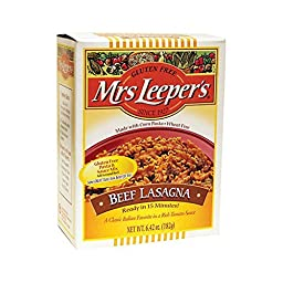 Mrs. Leepers Pasta 26226 Lasagna Dinner