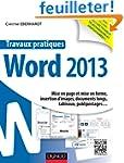 Travaux pratiques - Word 2013: Mise e...