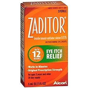 Zaditor Zaditor Eye Itch Relief Drops, 5 ml