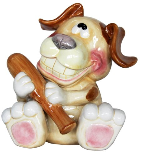 Puppy with Bone Bank