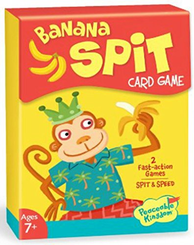 Peaceable Kingdom Banana Spit Card Game