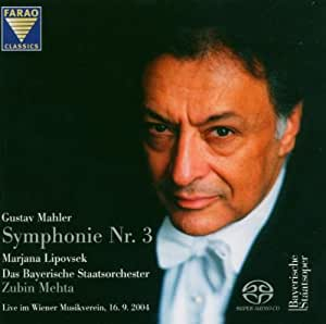 Gustav Mahler: Symphony No. 3, d minor - Recorded live in the Great Hall of the Vienna Musikverein