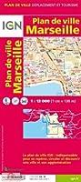 Marseille Plan de Ville 1:13 000 IGN Map