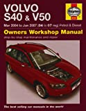 Martynn Randall Volvo S40 and V50 Petrol and Diesel Service and Repair Manual: 2004-2007 (Haynes Service and Repair Manuals)