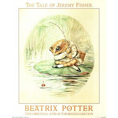 Beatrix Potter (Jeremy Fisher) Art Print Poster - 11x17