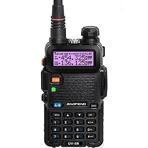 Baofeng Uv-5R (Usa Warranty) Dual-Band 136-174 / 400-480 Mhz Fm Ham Two-Way Radio, Transceiver, Ht