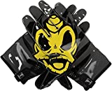 Oregon Ducks Team-Issued Black and Yellow Superbad 4 Nike Football Gloves - Size 4XL - Fanatics Authentic Certified