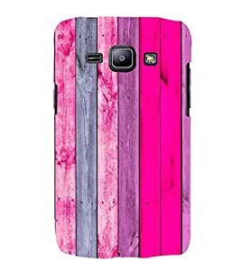 EPICCASE Pink wood Mobile Back Case Cover For Samsung Galaxy J2 (Designer Case)