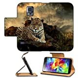 Jaguar Panthera Animal Big Cat Carnivore Pattern Jungle Samsung Galaxy S5 Sm-G900 Flip Cover Case With Card Holder Customized Made To Order Support Ready Premium Deluxe Pu Leather 5 13/16 Inch (148mm) X 2 1/8 Inch (80mm) X 5/8 Inch (16mm) Liil S V S 5 Professional Cases Accessories Open Camera Headphone Port Lcd Graphic Background Covers Designed Model Folio Sleeve Hd Template Designed Wallpaper Photo Jacket Protector Micro Sd Wireless Cellphone Cell Phone