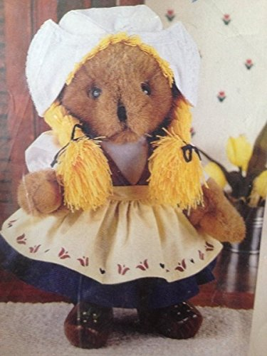 "Gretta Dutch Maid Teddy Bear Outfit 12"" Treasured Toggery #82501"