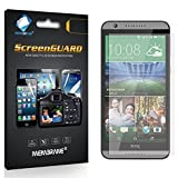 6 x Membrane Screen Protectors for HTC Desire 820 (HTC Desire 820 Dual Sim) - Crystal Clear (Glossy), Retail Package, Installation Kit