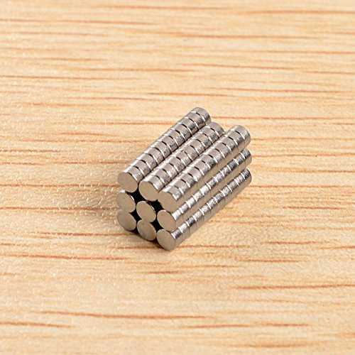 New 100pcs D2x1mm N40 Neodymium Magnets Rare Earth Magnet