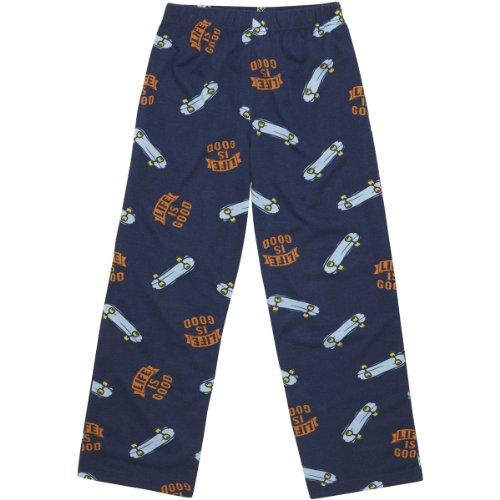 Life Is Good Skateboard Sleep Pants, Darkest Blue, Xx-Small front-1029781