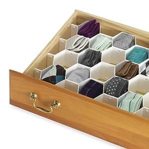 Whitmor organisateur tiroir honeycomb - Organisateur de tiroir cuisine ...