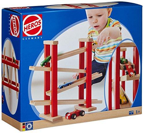 Heros 100027332 - Auto-Rennbahn, 5-teilig, bunt