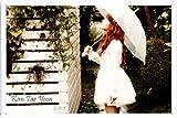 Tin Sign Metal Plate Poster of Snsd Kim Taeyeon 20*30cm by PBN