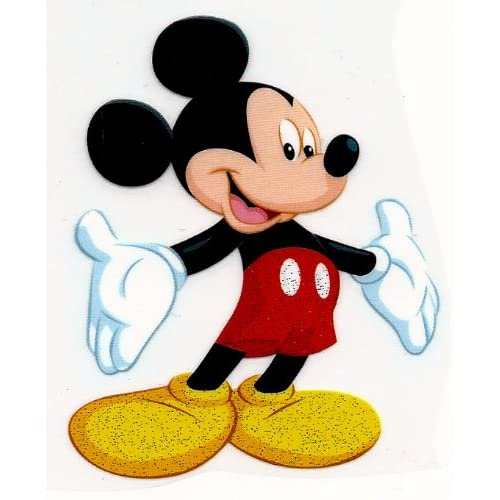 Amazon.com : Mickey Mouse arms wide open Disney Iron On Transfer for T