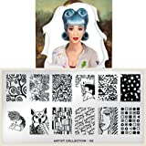MoYou-London Nail Art Image Plate Artist Collection - 02