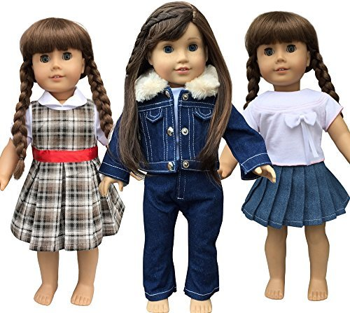 in-style-doll-clothes-for-american-girl-dolls-3-outfits-18-inch-by-in-stlye-doll-clothes