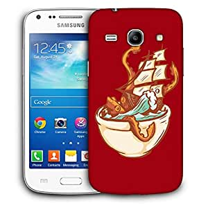 Snoogg Boat In Bowl Designer Protective Back Case Cover For Samsung Galaxy Core Plus