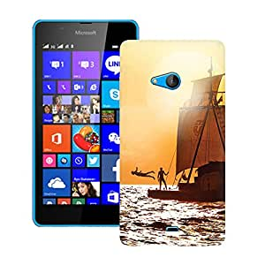 ZAPCASE Printed Back Case for MICROSOFT LUMIA 540