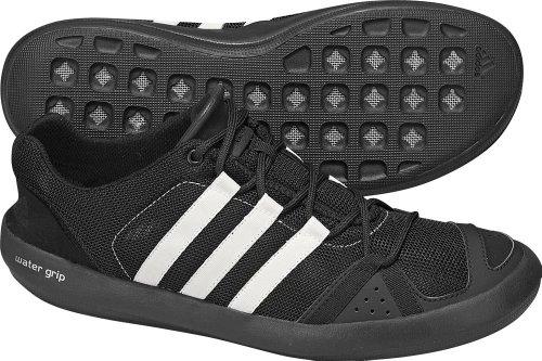 65c88e8bfcb1e3 Best Buy Adidas Outdoor Boat CC Lace Water Shoe - Men s Black Spray Light  Maroon