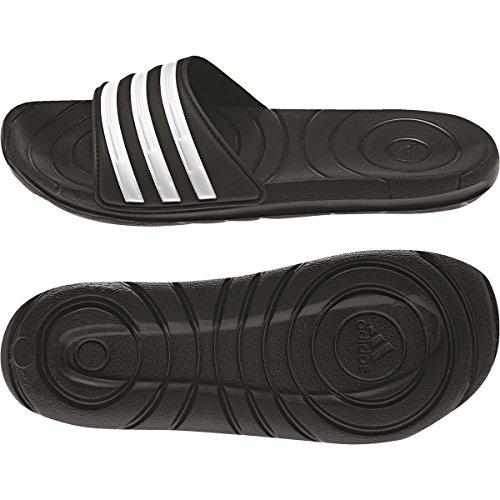 adidas - Pantofole Donna , Donna, nero/bianco, 38