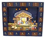 Kurt Adler J3767  Wooden Nativity Adv...