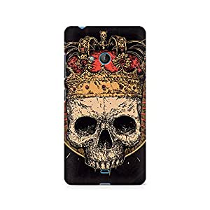 Mobicture Skull Abstract Premium Printed Case For Nokia Lumia 540