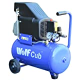 Wolf Cub 24 Litre, 1.5HP, 6.35CFM, 230V, MWP 116psi Air Compressor