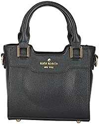 Moda King Women's Handbags (Black) (ModaKing010)