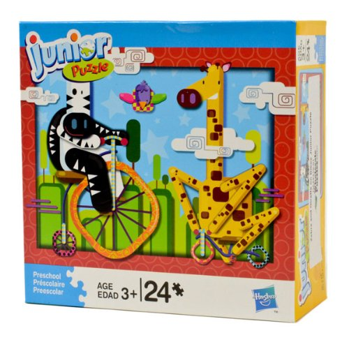 Zebra and Giraffe Junior Puzzle - 1