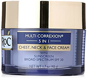 RoC Multi Correxion 5-in-1 Chest with Neck and Face Cream, 1.7 Ounce