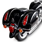 Hard saddlebags + mounting supports Y...