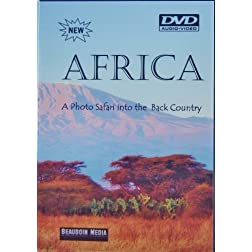 Africa-A Photo Safari into the Back Country DVD