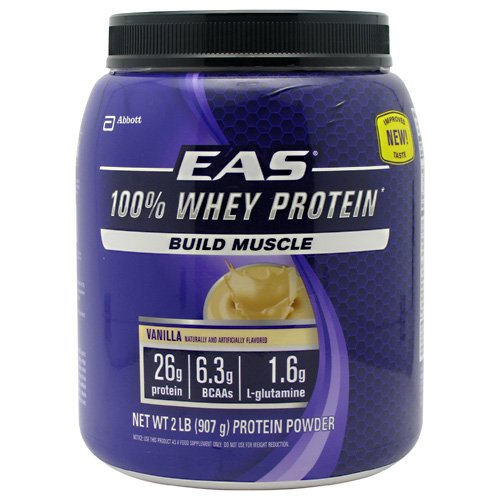 Eas 100 Percent Whey Protein Vanilla (2 Lb) ( Multi-Pack)