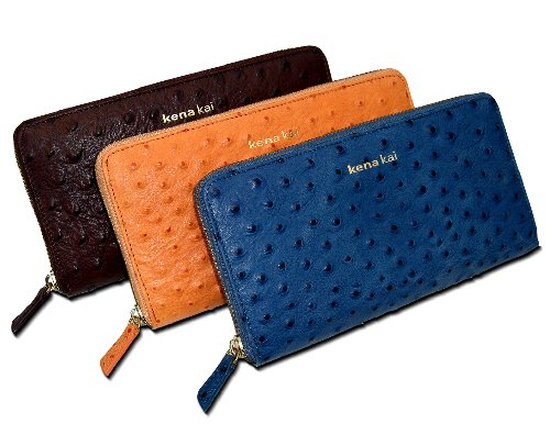 Ostrich Wallets For Sale Ostrich Zippered Wallet