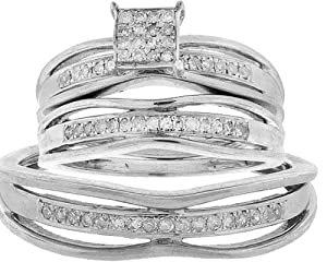 Gift and Jewels - Anneau Argent Sterling 925 plaqu