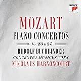 Mozart: Piano Concertos Nos. 23 & 25 Nikolaus Harnoncourt & Rudolf Buchbinder