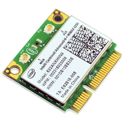 Intel 6250 WiFi sans fil Mini-carte Wireless | Intel Centrino Advanced-N + WiMAX 6250, double flux, double bande