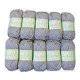 Sirdar Simply Recycled Aran Knitting Yarn - 33 - Pack of 10