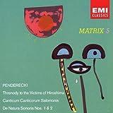 Penderecki: Anaklasis; Threnody; etc.