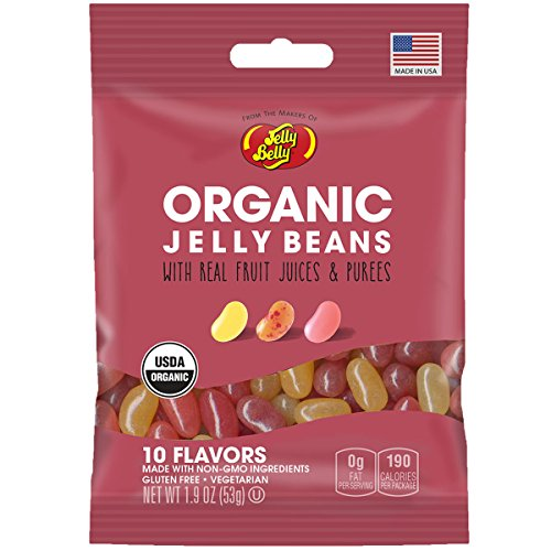 Jelly Belly Organic 10 Flavor Jelly Beans 1.9 Ounce Bag (Starburst Jelly Beans Sour compare prices)