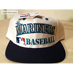 Seattle Mariners Vintage Snapback Hat by Logo Athletic