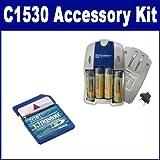 Kodak C1530 Digital Camera Accessory Kit includes: SB257 Charger, KSD2GB Memory Card