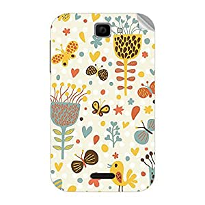 Garmor Designer Mobile Skin Sticker For Panasonic T11 - Mobile Sticker