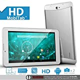 ProntoTec 7 Dual Core Dual SIM Unlocked PhoneTab K3 Android 4.2.2 Tablet PC, Dual Camera, HD 1024x600, 4GB, Google Play Pre-loaded, 3G+WI-FI Supported - White