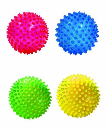 Edushape 4 Quot See Me Sensory Balls Translucent 4 Pack
