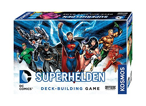 Kosmos Jeux 692582 – DC Super Héros, de Deck Building Game