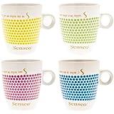 Senseo Design tasses de porcelaine spéciale édition, 160 ml, lot de 4